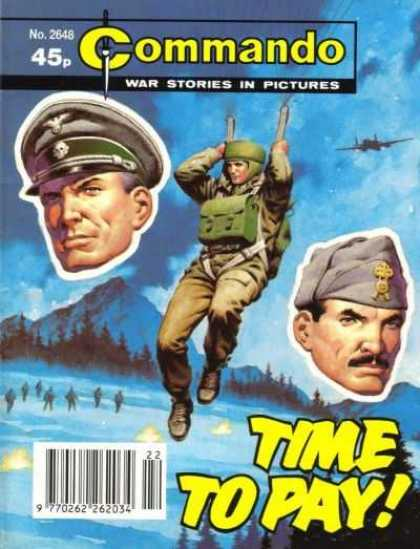 Commando 2648 - War Stories - In Pictures - Time To Pay - Army - Parachute