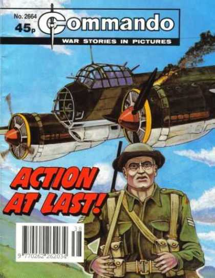 Commando 2664 - Airplane - Action - Soldier - Rifle - At Last