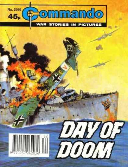 Commando 2666 - Swastika - Fighter Planes - Battleship - Day Of Doom - War Stories