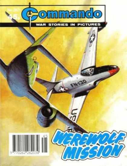 Commando 2671 - Green Airplane - Silver Airplane - War Stories - Werewolf Mission - Daggar