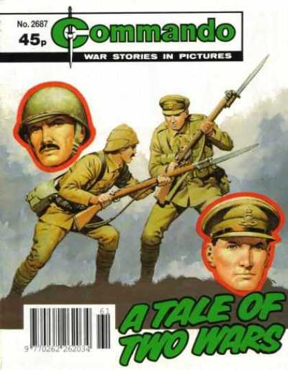 Commando 2687 - War - Soldiers - Guns - Fighting - A Tale Of Two Wars