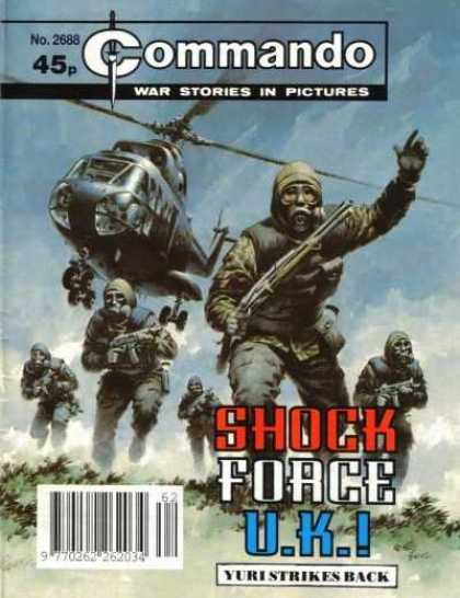 Commando 2688 - Helicopter - Soldiers - Yuri - Strikes - Attack