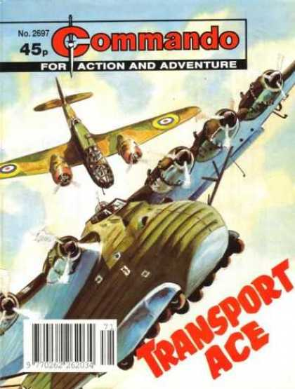 Commando 2697 - Flight - Transport Ace - Action - Adeventure - Sword