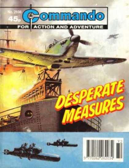 Commando 2698 - Desperate Measures - Planes - War - Torpedoes - Kamikaze