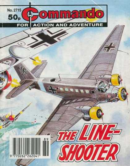Commando 2715 - Action - Adventure - Line Shooter - Plane - No 2715