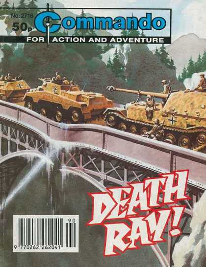 Commando 2716 - Death Ray - Tanks - Crossing Bridge - Melting Bridge - Mountains