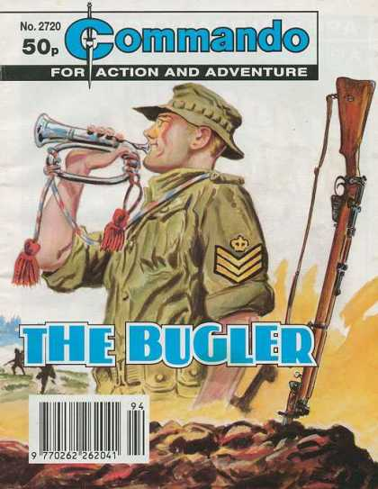 Commando 2720 - Action And Adventures - The Bugler - Gun - Soldier - No2720