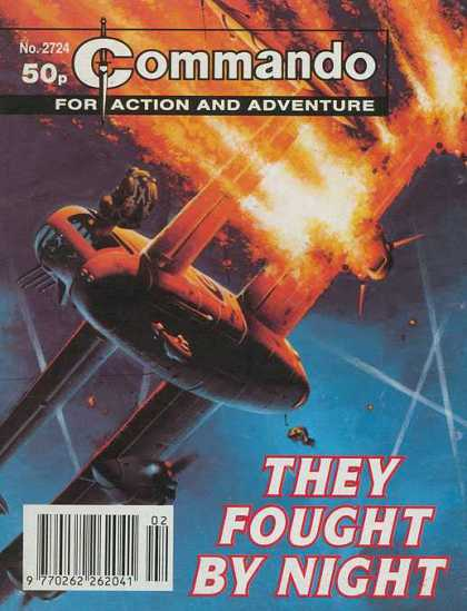 Commando 2724 - Action - Adventure - They Bought By Night - No2724 - 50 P
