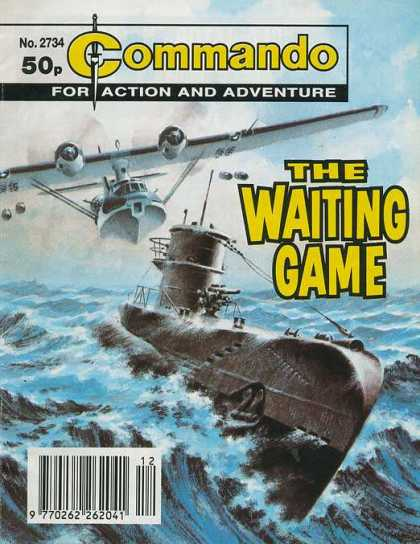 Commando 2734 - Action - Adventure - The Waiting Game - Submarine - Water