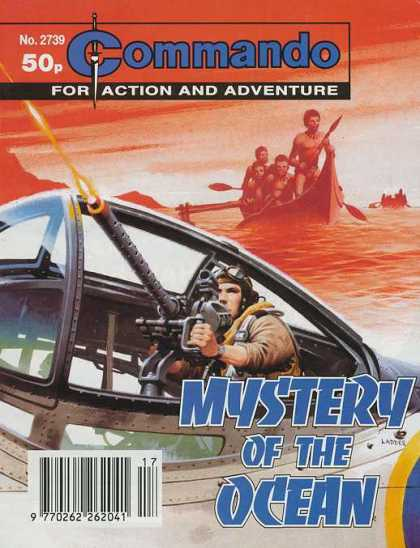 Commando 2739 - Action And Adventure - Gun - Mystery Of The Ocean - Water - Boat