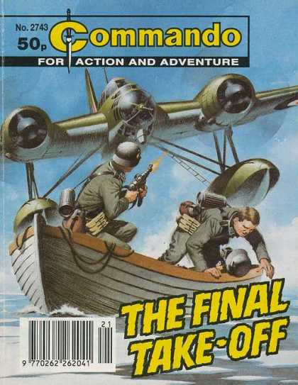 Commando 2743 - For Action And Adventure - Airplane - Soldiers - Guns - Boat
