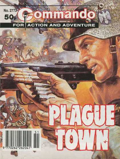 Commando 2773 - Military - Combat - Soldiers - Guns - Town Seige