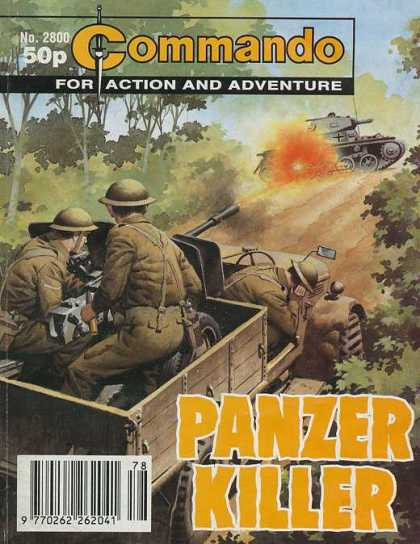 Commando 2800 - Tanks - Guns - Weapons - For Action And Adventure - Panzer Killer