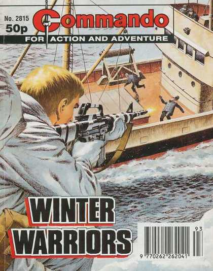 Commando 2815 - Retro Style - Adventure On The High Seas - Classic Action Adventure - War Stories - Modern Day Warriors