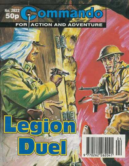 Commando 2822 - Commando - Action - Adenture - Legion - Duel