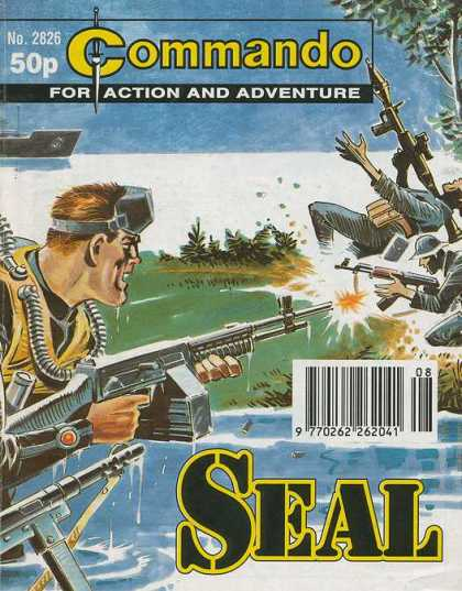Commando 2826 - Action Adventure - A Gun Man - Fighting Man - A K 47 Gun - Rocket Lancer