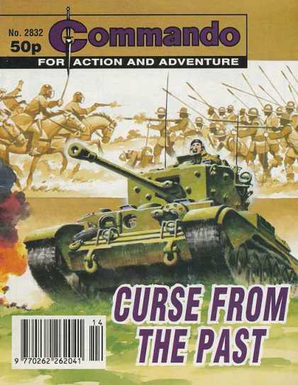 Commando 2832 - Action - Adventure - Army Tank - Warriors - Curse