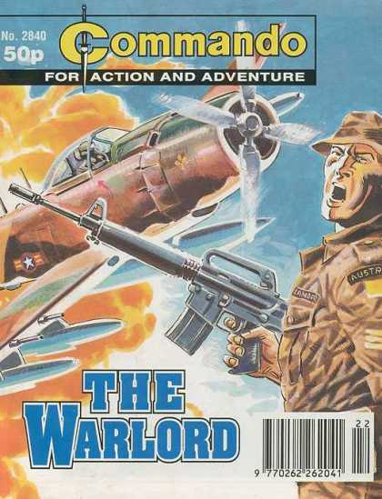 Commando 2840 - The Warlord - The Plane The Plane - Attack - Action And Adventure - Help