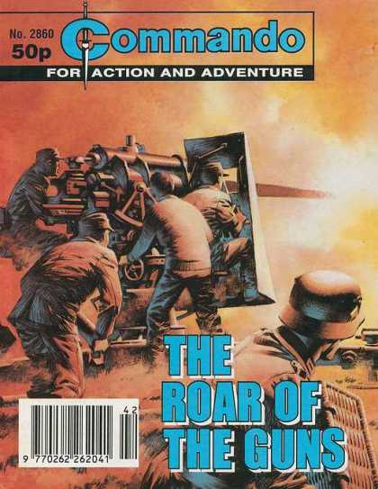 Commando 2860 - Action - Adventure - No2860 - 50p - The Road Of The Guns