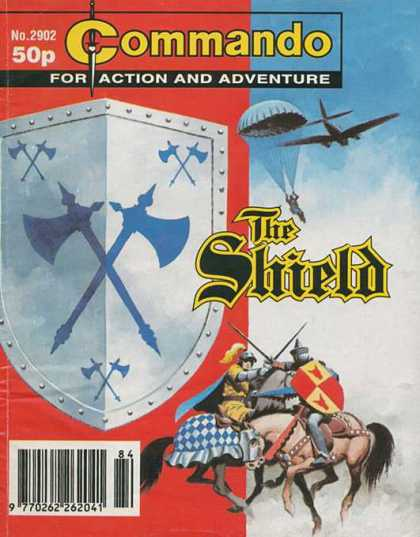 Commando 2902 - The Shield - Paratroops - Axes - Swordfight - Horseback