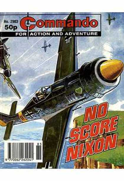 Commando 2903 - For Action And Adventure - Plane - No Score Nixon - Sea - Pilot