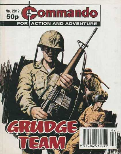 Commando 2912 - Grude Team - Action - Soldiers - Machine Guns - War