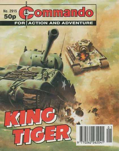 Commando 2915 - Army Tanks - Adventure - King - Action - Cross