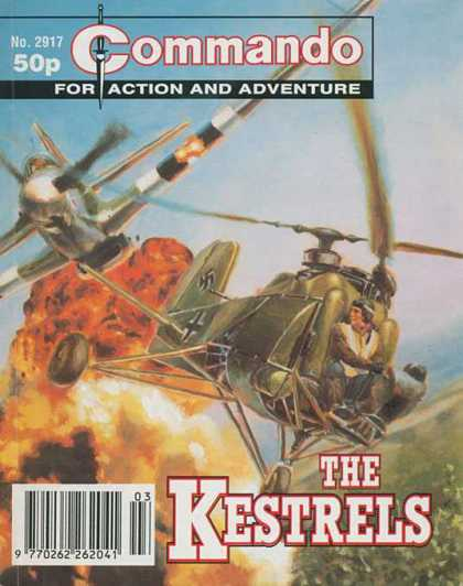 Commando 2917 - Action And Adventure - The Kestrels - Helicopter - Airplane - Army