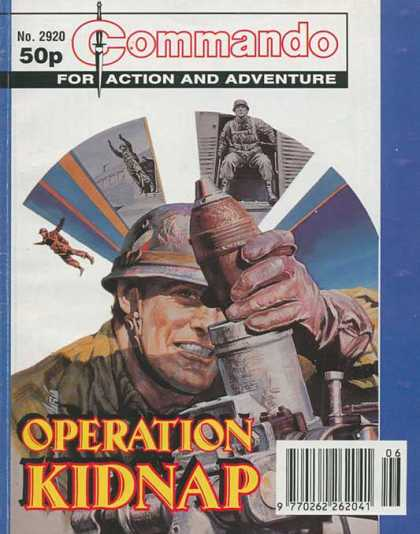 Commando 2920 - Paratrooper - Commando - For Action And Adventure - Mortar - Operation Kidnap