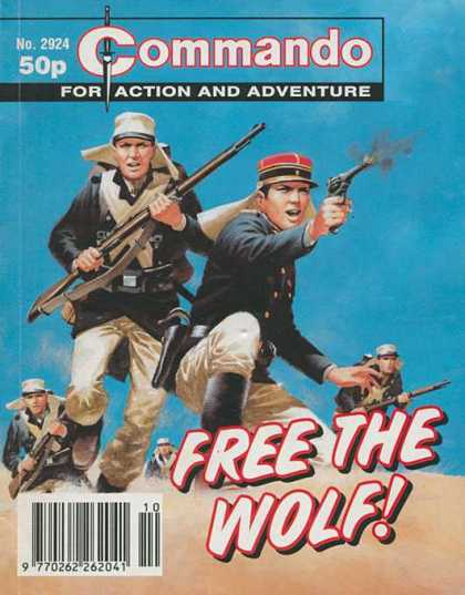 Commando 2924 - Free - Wolf - Rifles - Sand - Soldiers