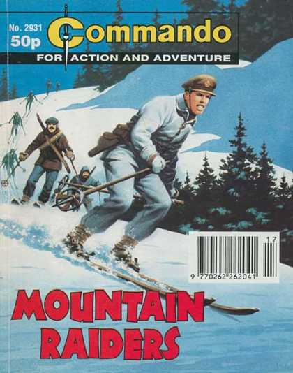 Commando 2931 - Commando - Action - Adventure - Mountain Raiders - Comics