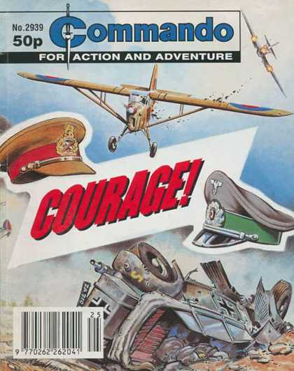 Commando 2939 - Courage - No 2939 - War - Dog Fight - Fighter Planes