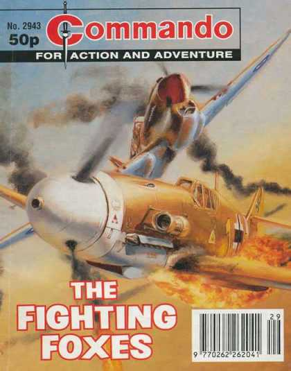 Commando 2943 - Dogfight - The Fighting Foxes - Propeller - Airplanes - Flameout