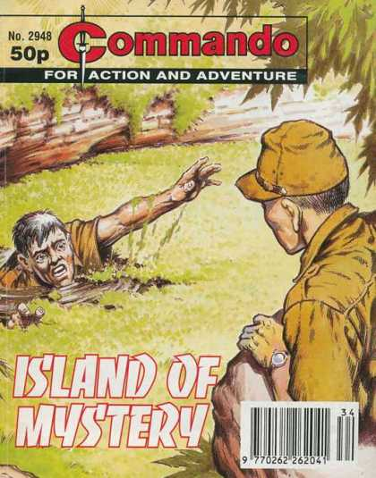 Commando 2948 - Commando - Action - Adventure - Drowning - Pond