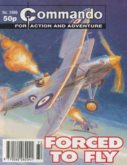 Commando 2986 - For Action And Adventure - Plane - Forced To Fly - Machinegun - Fire
