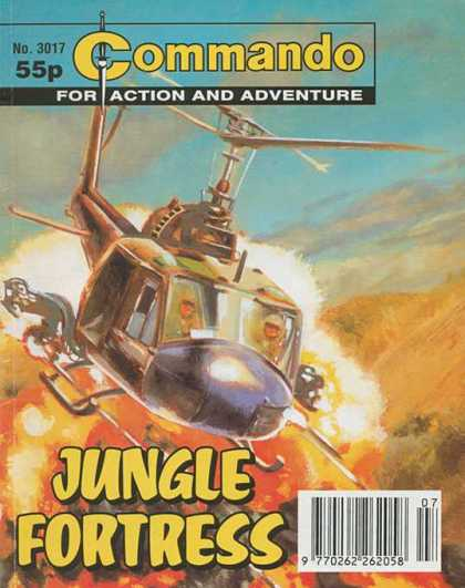 Commando 3017 - Helicopter - Jungle Fortress - For Action And Adventure - Sky - Aircraft