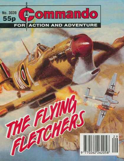 Commando 3039 - No 3039 - 3039 - 55 - For Action And Adventure - Planes
