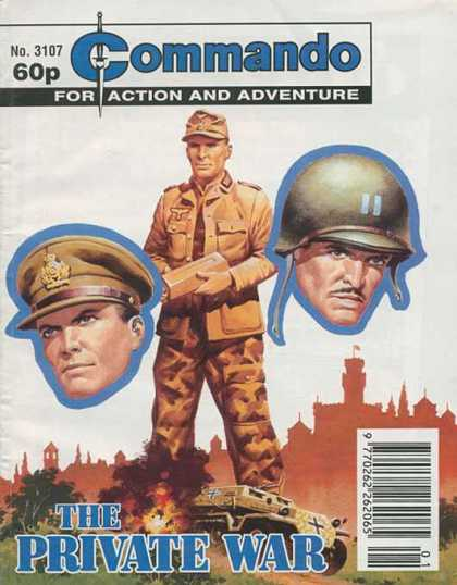 Commando 3107 - For Action And Adventure - Private War - Soldier - Man - Fire
