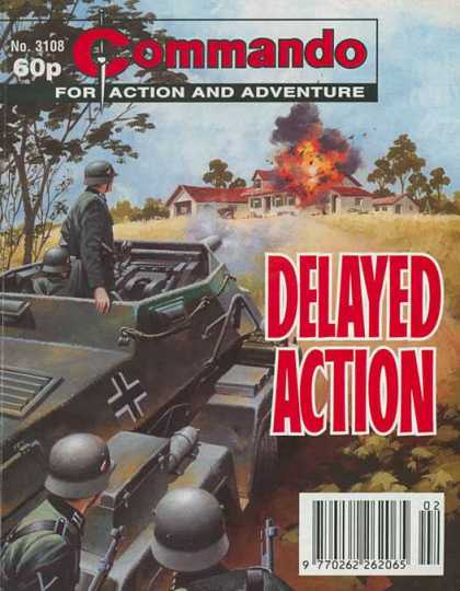 Commando 3108 - Action - Adventure - Delayed - Tank - Explosion