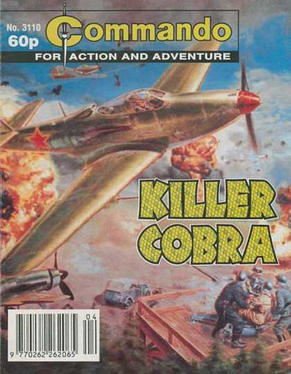 Commando 3110 - Action - Adventure - Killer Cobra - Aeroplane - No3110