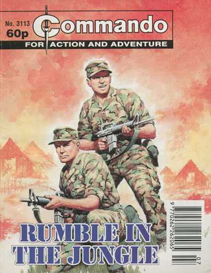 Commando 3113 - Action And Adventure - Guns - Rumble In The Jungle - Mountains - Warriors