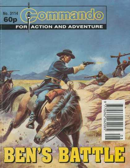 Commando 3114 - Commando - Action - Adventure - Western - Bens Battle