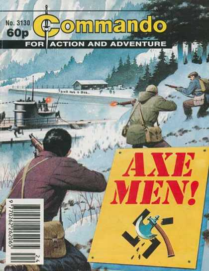 Commando 3130 - Action - Adventure - Shooting - Guns - Snow