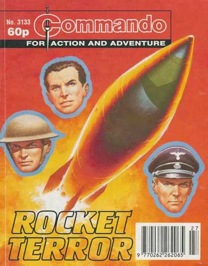 Commando 3133 - Nazis - Army - Rocket - V2 - Blastoff