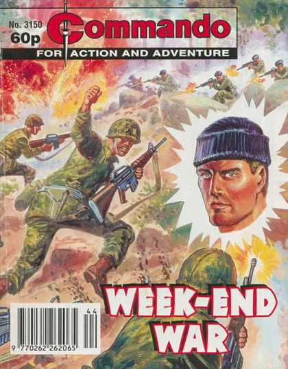 Commando 3150 - Action And Adventure - Week-end War - Soldiers - Guns - War