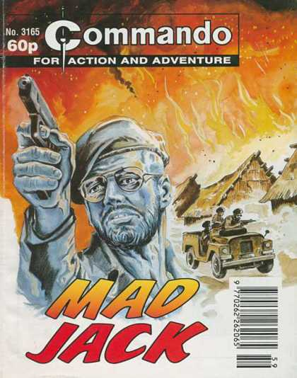 Commando 3165 - For Action And Adventure - Fire - Gun - Soldier - Mad Jack