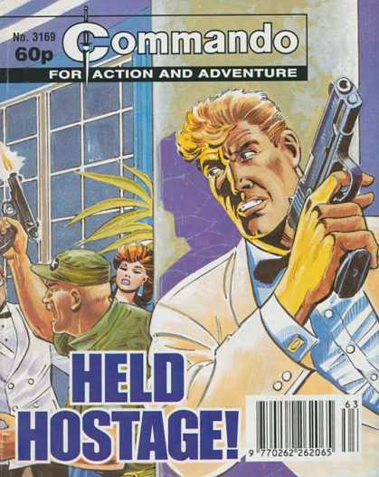 Commando 3169 - Fior Action And Adventure - Held - No 3169 - 60p - Hostage