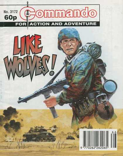 Commando 3172 - Military - Guns - War - Action - Adventure
