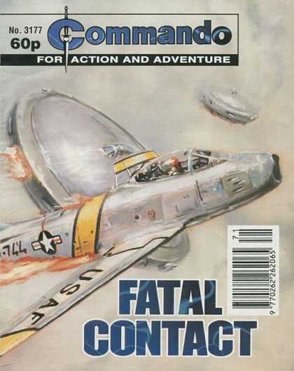 Commando 3177 - 3177 - Jet - Airplane - Ufo - Fatal