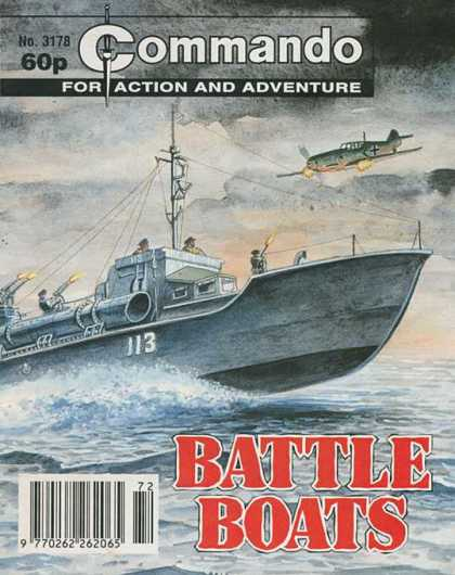 Commando 3178 - For Action And Adventure - Plane - Ship - Battle - Sea
